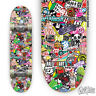 100 Skateboard Stickers bomb Vinyl Laptop Luggage Decals Dope Stickers