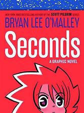 SECONDS by BRYAN LEE O'MALLEY HARDCOVER the creator of Scott Pilgrim Comics HC