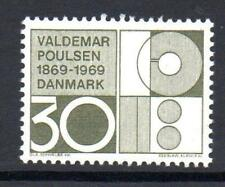 Denmark Mnh 1969 Sg509 Birth Centenary Of Valdemar Poulsen