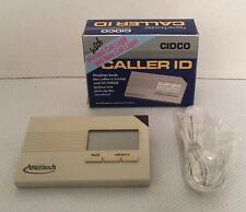 Cidco Caller Id w/ Blocked Call Light, Ameritech Model Sa-60A-01