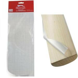 Slazenger Anti Scuff Cricket Bat Sheet 36cm Curved Bottom Precision