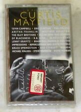 VARIOUS - A TRIBUTE TO CURTIS MAYFIELD - Musicassetta Cassette Tape MC K7 Sealed