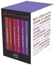 LIVRE : COFFRET VINS : 6 livre > cépage,choisir,cave,france le nord - le sud