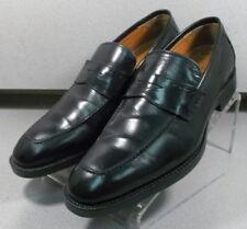 152675 PF50 Men's Shoes Size 11 W Black Leather Slip On Johnston & Murphy
