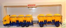 MICRO WIKING HO 1/87 CAMION TRUCK MAN F 90 F90 REMORQUE SILO FERNLASTZUG IN BOX