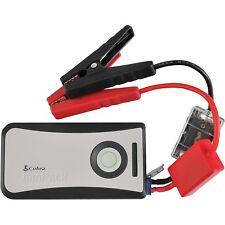 Cobra CPP8000 Portable Car Jump Starter Power Bank Flashlight - Refurbished