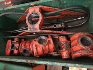 Commercial Ridgid Hydraulic Pipe Bender