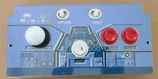 Arcade1up Countercade SPACE INVADERS PCB control panel with deck protector.