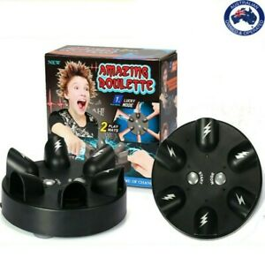 Funny Shocking Shot Roulette Game Reloaded Lie Detector Electric Shock Toy