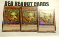 3x Petiteranodon  Ultra Rare SR07 Yugioh