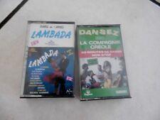 Casstte audio LAMBADA-Compagnie créole a SAISIR