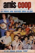 Revue Amis-Coop 128  / 1971  Lyon.  Petit Monde des Champs