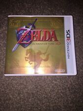 The Legend of Zelda Ocarina Of Time Promo Gold Case 3DS coleccionista sin juego