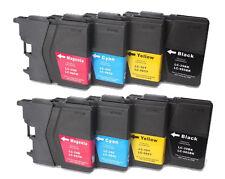 SET DE 8 NONOEM compatibles GENERICAS LC985 DCP-J315W DCP-J515 HQ