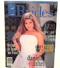 DANIELLE FISHEL 1998 BRIDES MAGAZINE (NEW-OLD-STOCK)