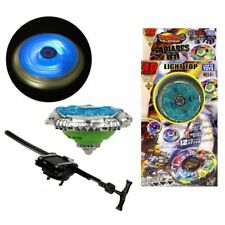 Beyblade Metal Flash Fusion Launcher Masters Fight Set Flashing 4D Spinning Top