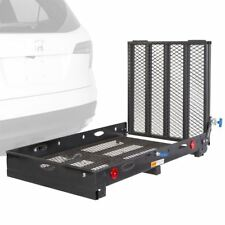 Scooter Mobility Rack Power Lift 500lb Hitch-Mount Wheelchair Carrier Ramp