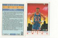 20 ct lot 1991/92 Fleer Pro Visions Patrick Ewing Inserts NY Knicks HOF Center