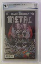 Batman Dark Knights Metal #3..  Foil Cover ..PGX 9.8 NM/MT NICE!!!!