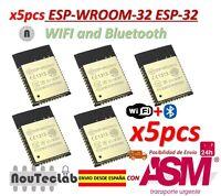 5pcs ESP-WROOM-32 ESP32 ESP-32S ESP-32 Bluetooth and WIFI Dual Core CPU DOIT