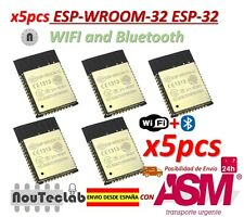 5pcs ESP-WROOM-32 ESP32 ESP-32S ESP-32 Bluetooth and WIFI Dual Core CPU DOIT