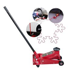 3 Ton Safety Use Low Profile Aluminum Racing Floor Jack Rapid Pump Lift Car Auto