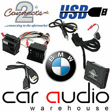 Connects2 BMW Mini E46 2001-2006 Flat Pin USB SD AUX In Car Interface Adaptor