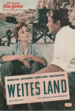 Filmheft -  Weites Land (Big Country) - Gregory Peck 1958