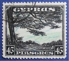 1934 CYPRUS 45P SCOTT# 135 S.G.# 143 USED                                CS03404