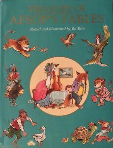 Treasury of Aesop's Fables Grimm's Fairy Tales Val Biro Book Set Rare Free Post