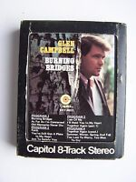 Glen Campbell - Burning Bridges 8 Track Tape 8XY-4653