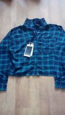 ladies long sleeve check shirt by blendshe size XS