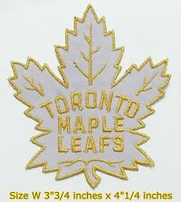 TORONTO Maple leafs NHL Hockey Sport Patch Logo Embroidery Iron,Sewing on cloth