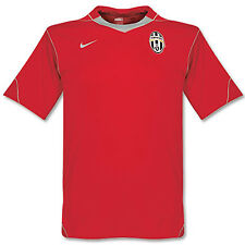 Nike Neuf JUVENTUS FOOTBALL entraînement T-shirt AVANT MATCH Rouge L