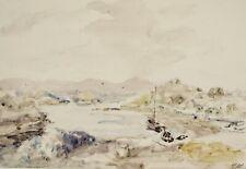 Vernon Wethered (1865–1952) landscape watercolour, Glengarriff, Ireland.