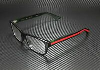 GUCCI GG0006O 002 Round Oval Black Demo Lens 53 mm Men's Eyeglasses