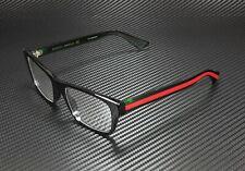 GUCCI GG0006O 002 Round Oval Black Demo Lens 53 mm Men's Eyeglasses