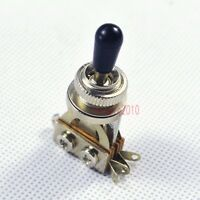 Genuine Short 3 way Toggle Switch For Gibson Les Paul LP SG Epiphone ,Black 608
