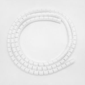 2M Cable Hide Wrap Tube 10/25mm Organizer & Management Wire Spiral Flexible Cord