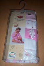5er Set  Baby Mädchen Bodies Strampler Langarm bodies 100% Baumwolle 50-56