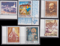 PP347-  YUGOSLAVIA STAMPS MARATHON/RELIGIOUS ICONS/CHURCH/AIRPLANE MNH