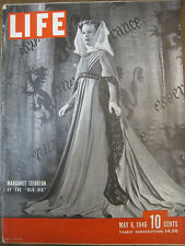 LIFE May 6 1946  Old Vic, Mont St Michel, US mental hospitals, Ecole Humanite