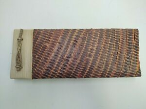 NATURE JOURNAL W/HANDMADE PAPER SEED PODS LEAVES & STICKS MADE IN INDONESIA