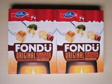 2 x 400 g packs of Emmi Swiss cheese fondue made in Switzerland
