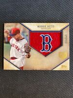 2019 TOPPS SERIES ONE MOOKE BETTS COMMEMORATIVE PATCH #ed 6/150