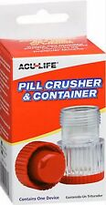 Acu-Life Pill Crusher & Container