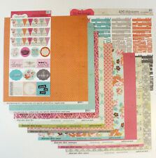 LILY BEE DESIGN HEAD OVER HEELS 12 X 12 Paper Kit BRAND NEW