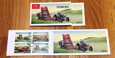 Iceland Booklet 2008 Old Farming Euqipment 4x 85 kr - FDC - Excellent!