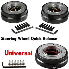 Snap Off Quick Release Boss Kit Hub Adapter Fit Steering Wheel With Safety Lock