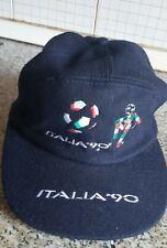 MONDIALI CALCIO ITALIA '90 MONDIALE MUNDIAL CAPPELLINO MASCOTTE CIAO RICAMATO